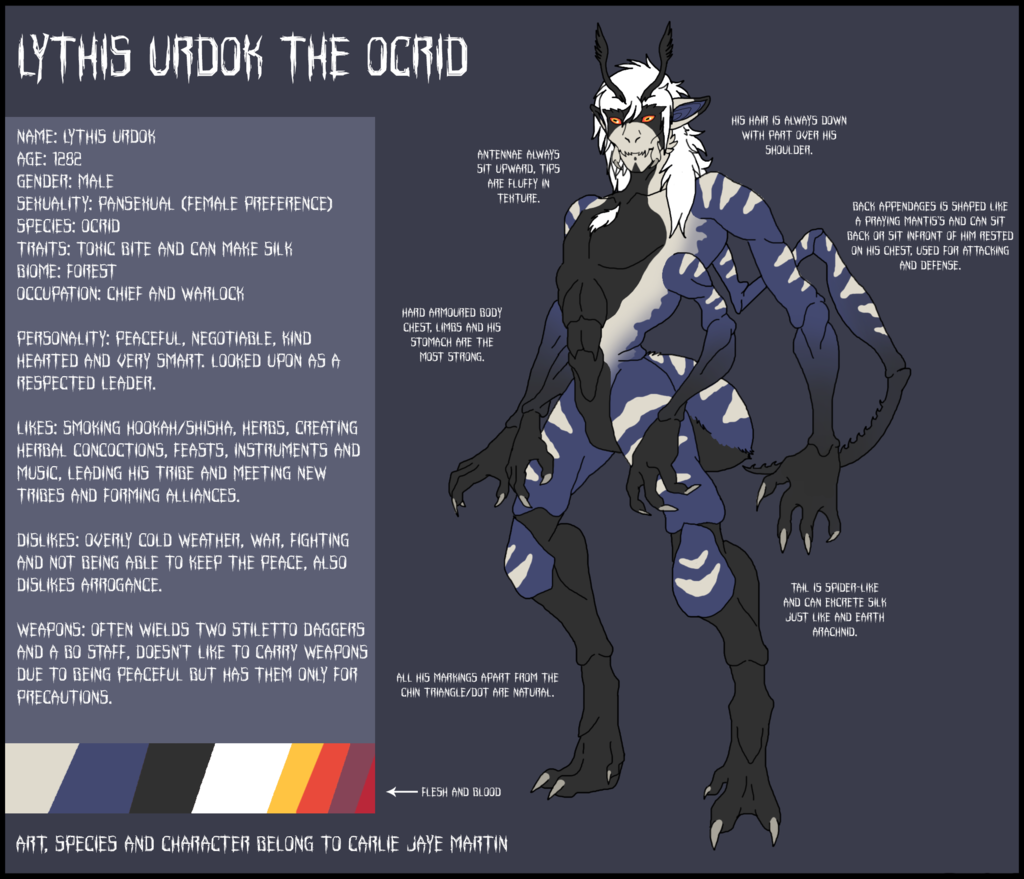 Personal - Lythis Urdok Reference