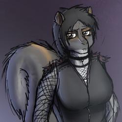 Goth Squirrelfriend