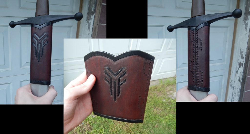 Leather Projects - Sword Frog Pt.2
