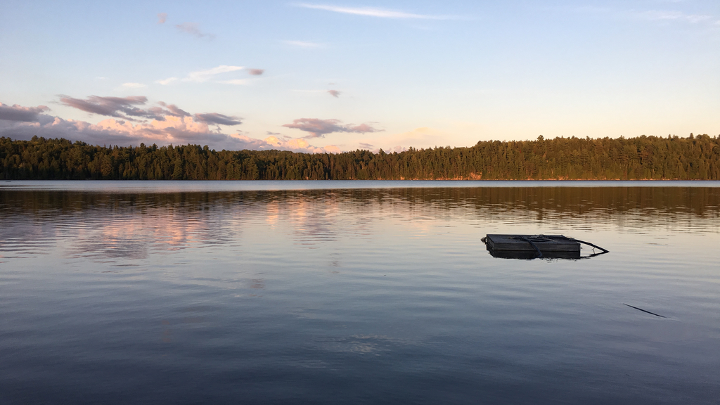 Sunset at Algonquin Provincial Park