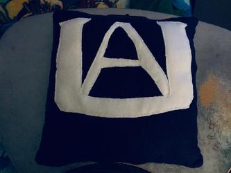 My Hero Academia UA Throw Pillow For Sale