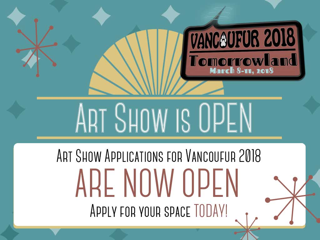 Most recent image: VF2018 Artshow applications are OPEN!