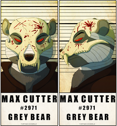 Police Line Up - Max Cutter
