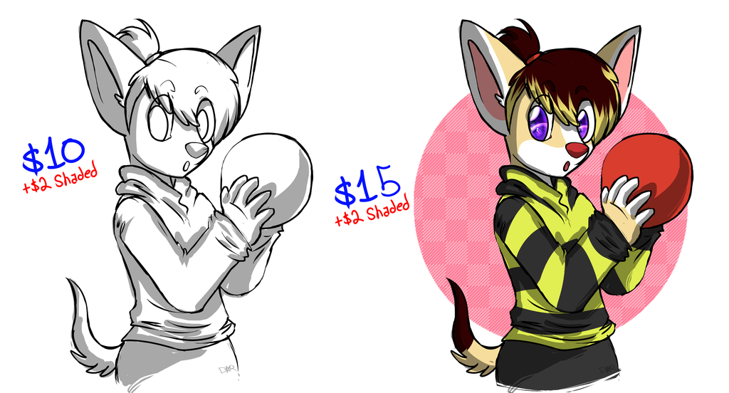 Sketch Commission Prices!