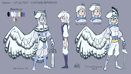 Snowy Style Test Reference