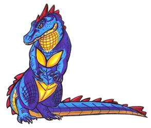 Little Blue Gator