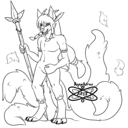 Witchdoctor Kitsune +Pre Character Design 4 Sale+
