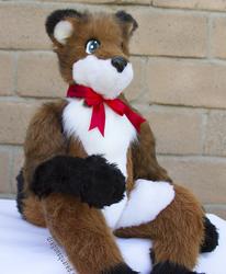 Plush Fox Doll