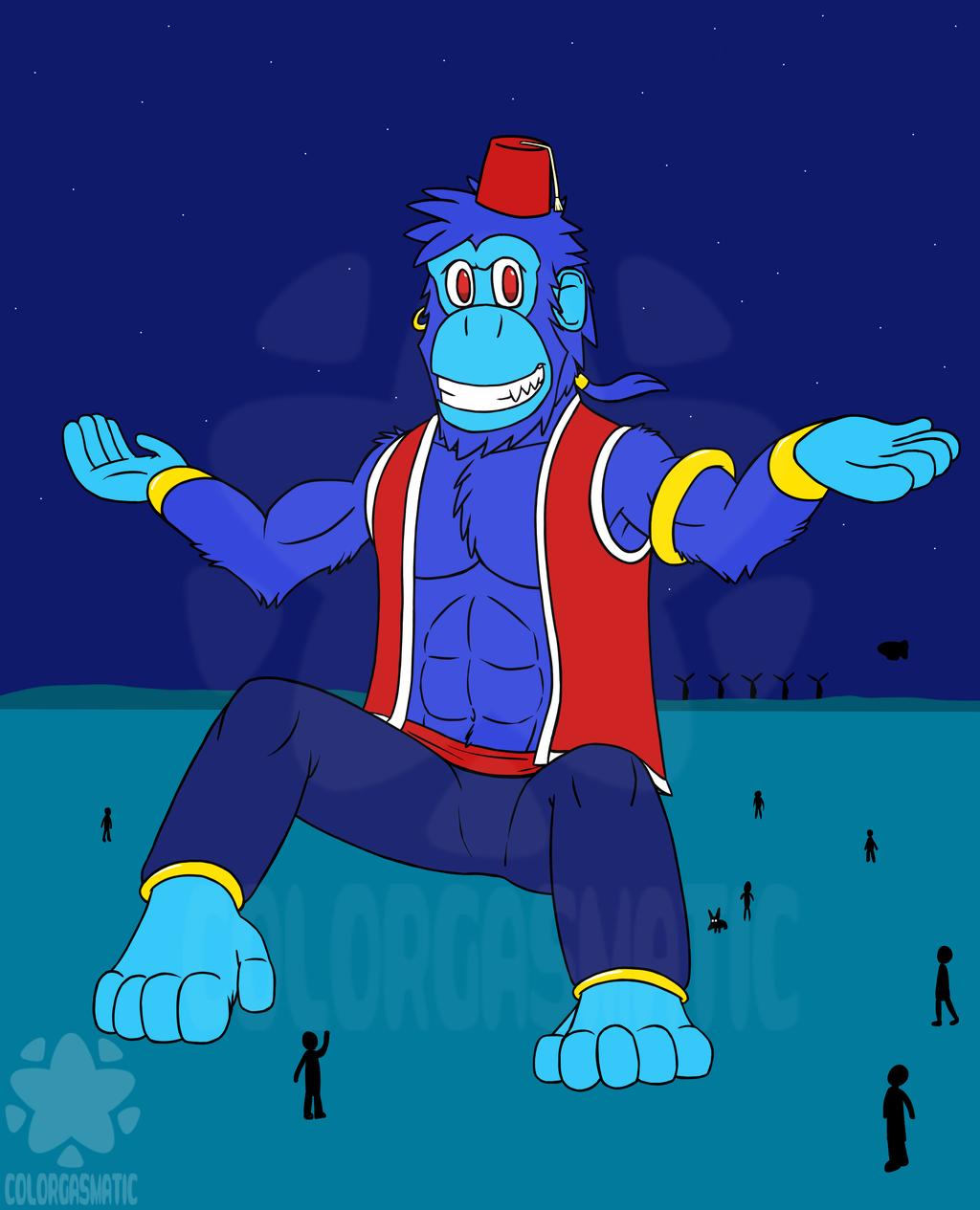 A Great Giant Genie-us