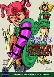 Superheroine Lynx in Gigglers Revenge