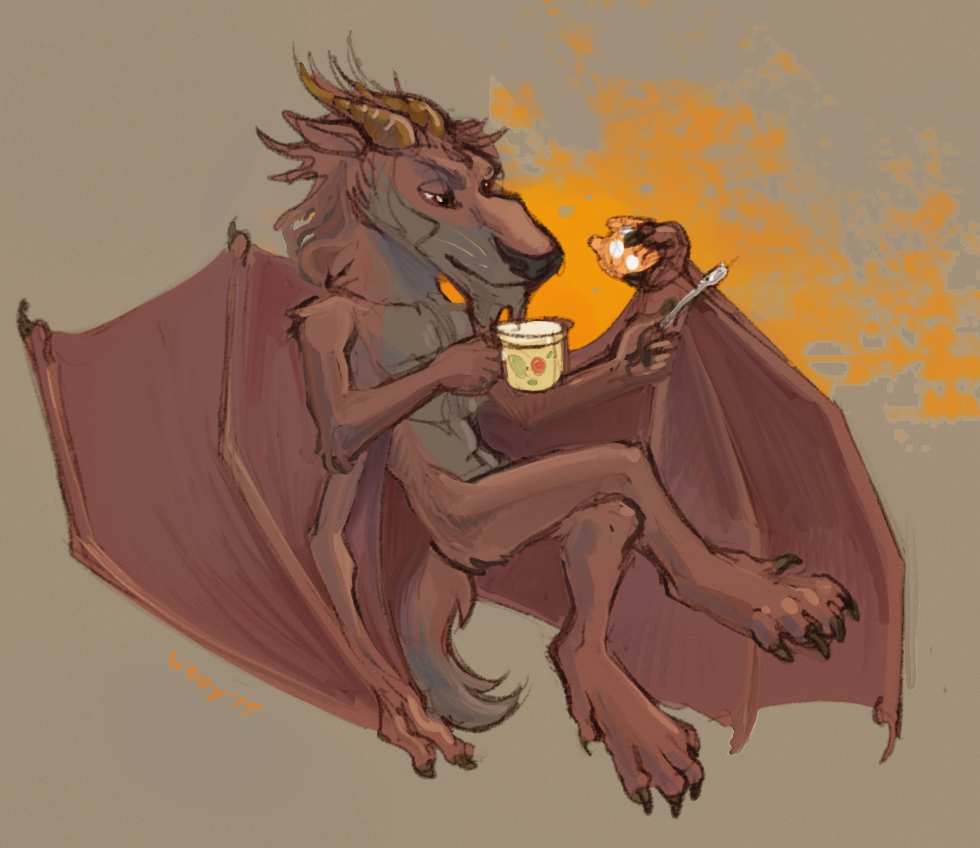 Edd and cup of tea