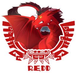 [commission] MH4U Badge - Redd