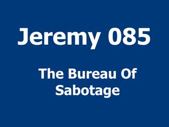 The Bureau Of Sabotage