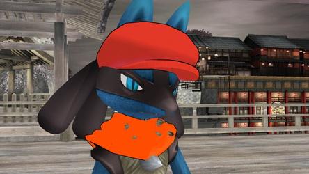 MMD Pokemon sona Self Mike the lucario