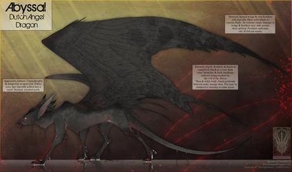 Ref Sheet - Abyssal Dutch Angel Dragon