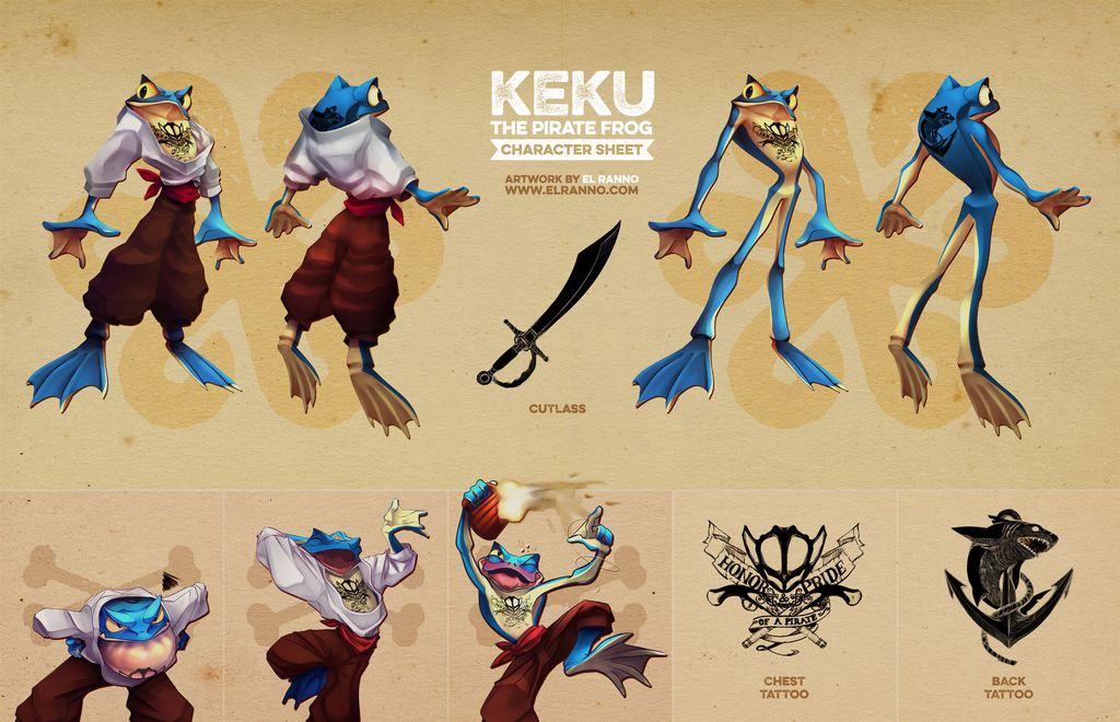Keku - Reference Sheet Commisision