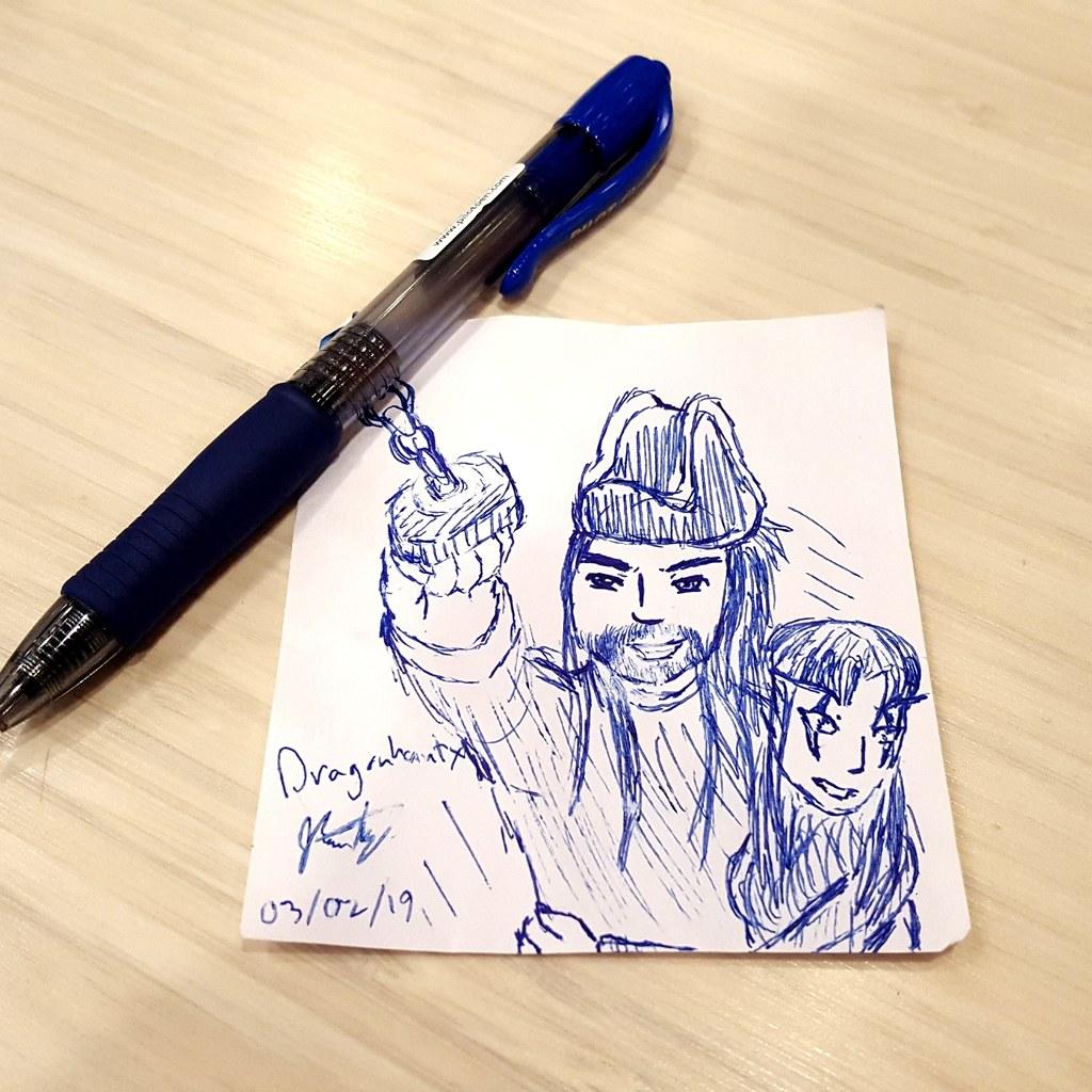 Work Doodles - Grapple Away