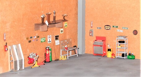 My Garage Diorama (Complete)