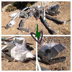Robot Wolf - Chair Transformation