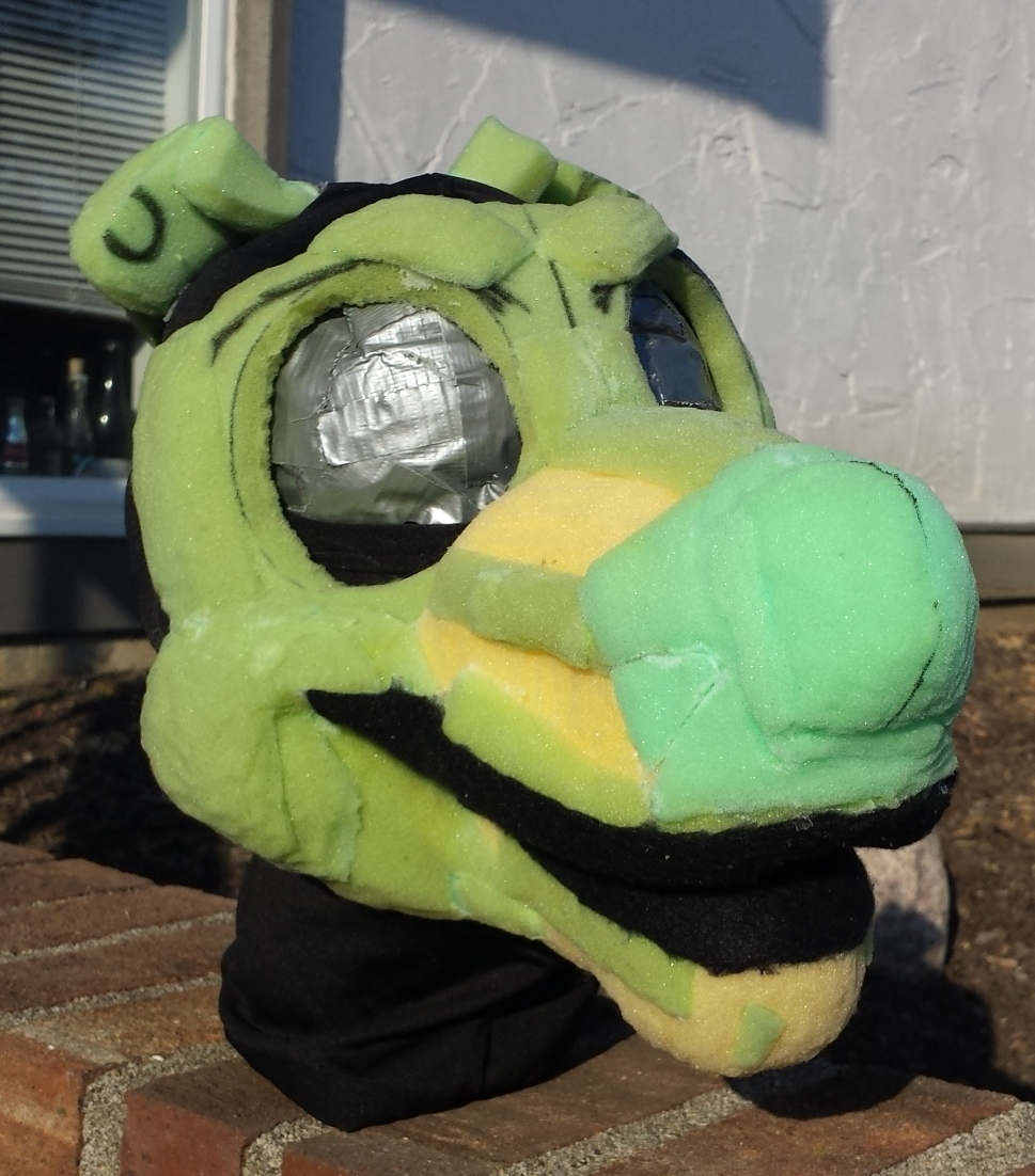 Most recent image: Canine Foam Base + Handpaws + Tail! $150 FREE SHIPPING