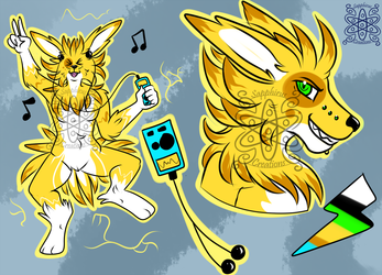 Male Rocking Jolteon +Design 4 Sale+