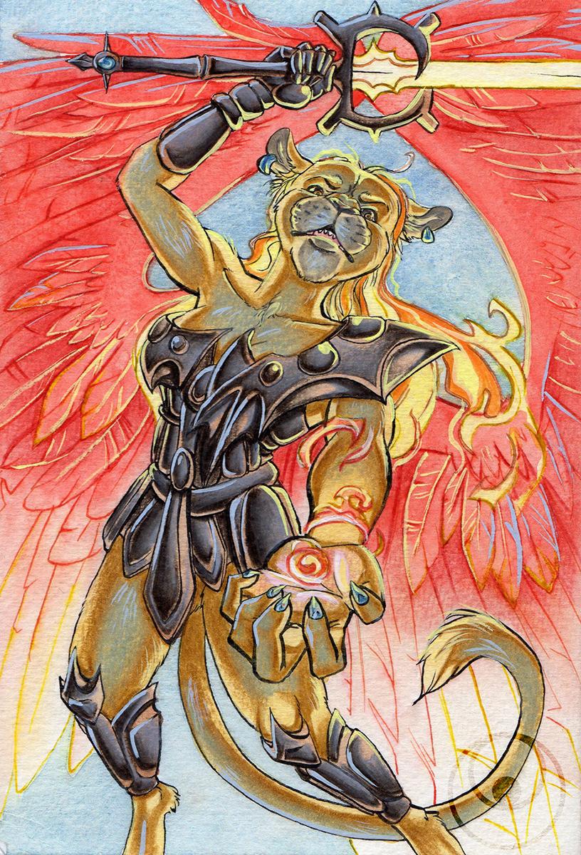 Godess lioness