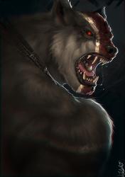 150105 Werewolf Portrait