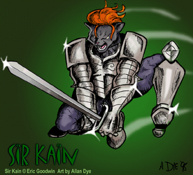 [Old Art] Kain Attack! By Alan Dye
