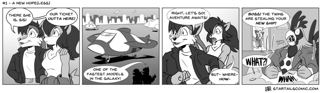 Most recent image: StarTails Comic #1