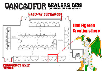 Where you can find me at VancouFur 2016