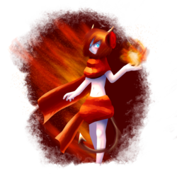 [Art Trade] Fiery Roses