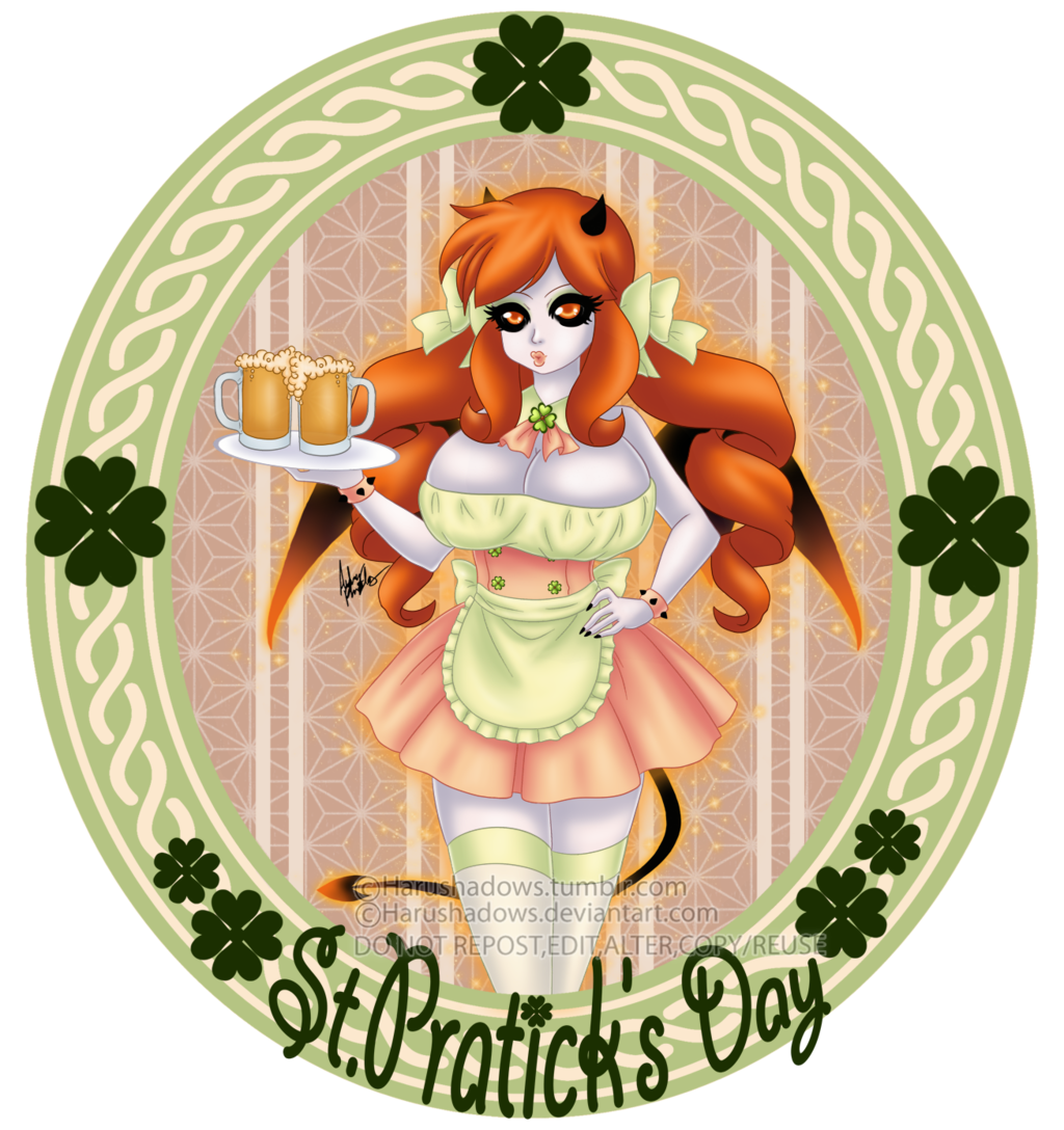St Patty's Beer Maid