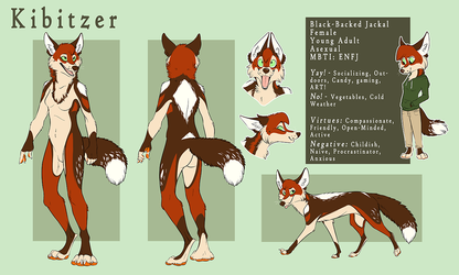 Kibitzer Reference Sheet