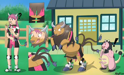 Ride Pager Malfunction (Tauros Transformation)