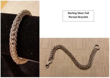 Full Persian Sterling Silver Bracelet