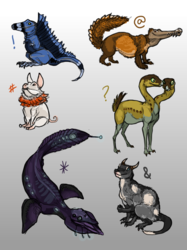 Strange Adoptable Wildlife [$4]