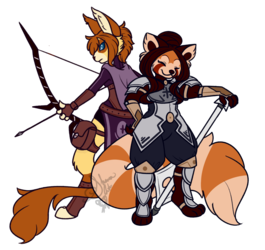 Archer and Cleric