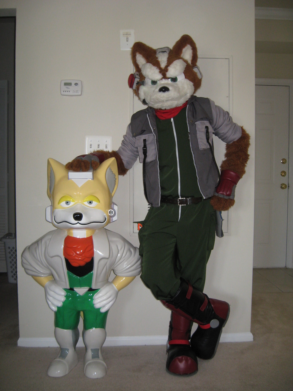 Most recent image: Fox McCloud - Classic and Modern (2)