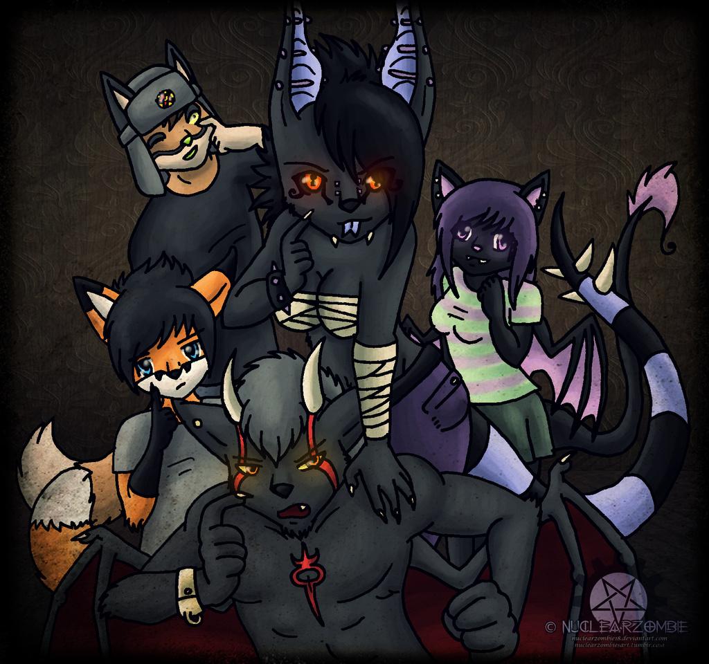 Gift- Furry group shot