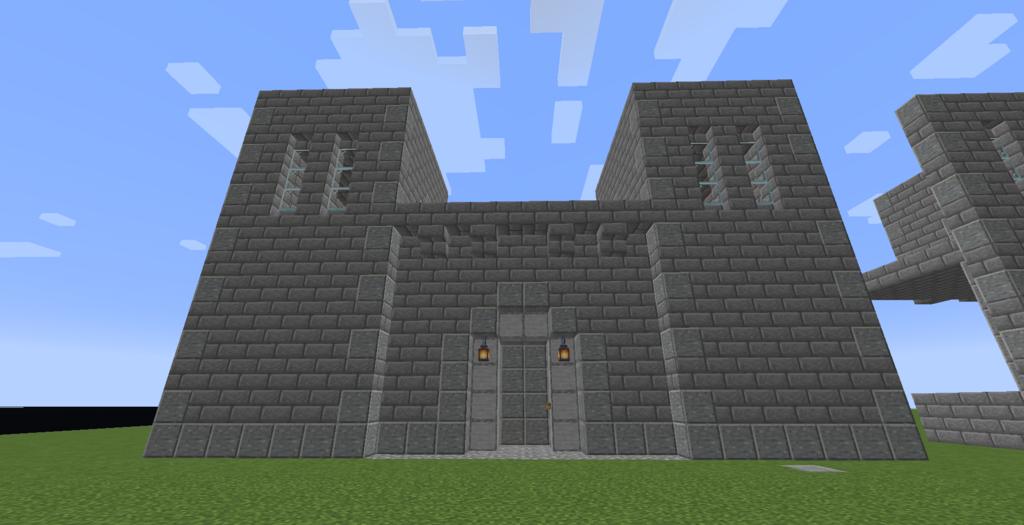 Automatic Gate in Minecraft