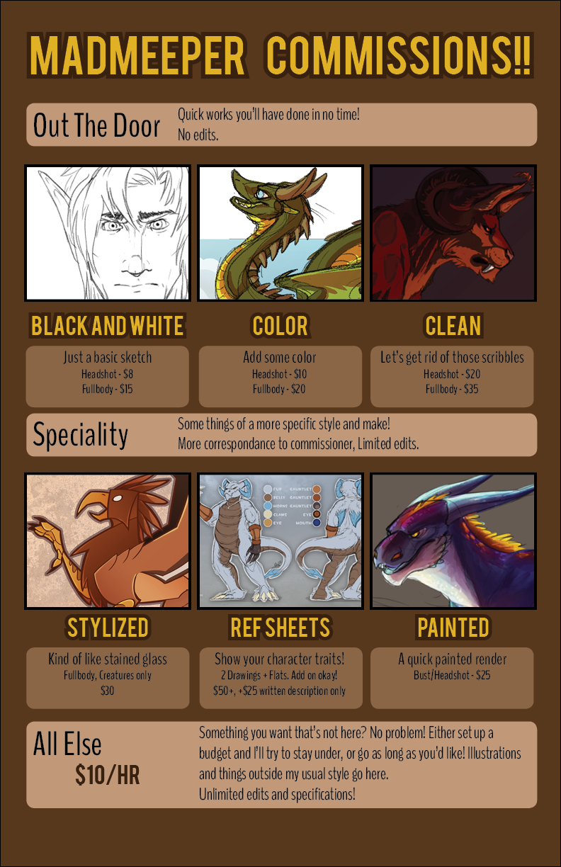 Commission Information! (July 2015)