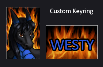 Custom Keyring - Westy