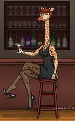Leggy Giraffe, short hair version