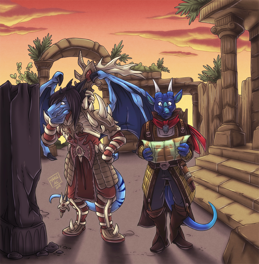[Commission by Hahul]..We are lost aren't we?..