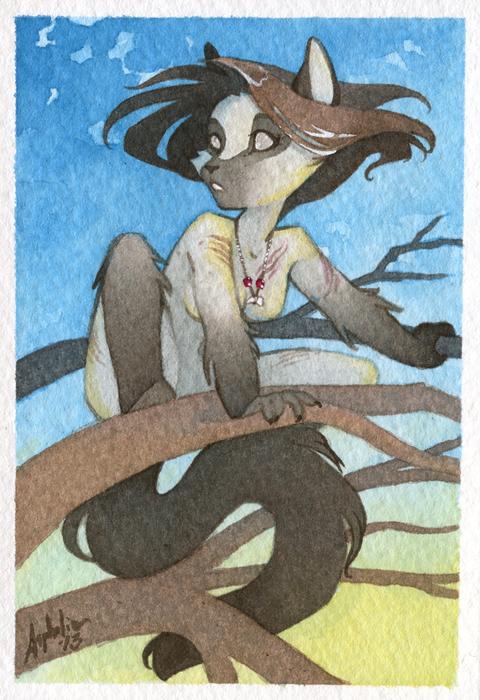 Mini Portrait - Calypso