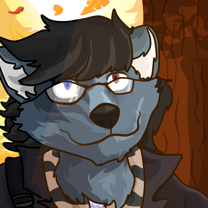 [Comm] Mephy icon with lines!