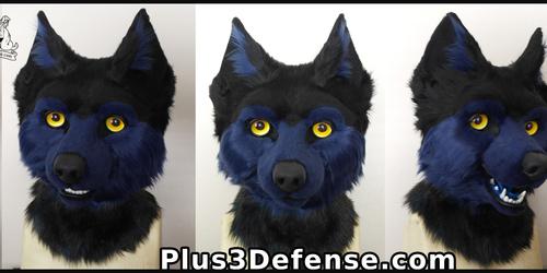 Midnight Wolf Fullsuit