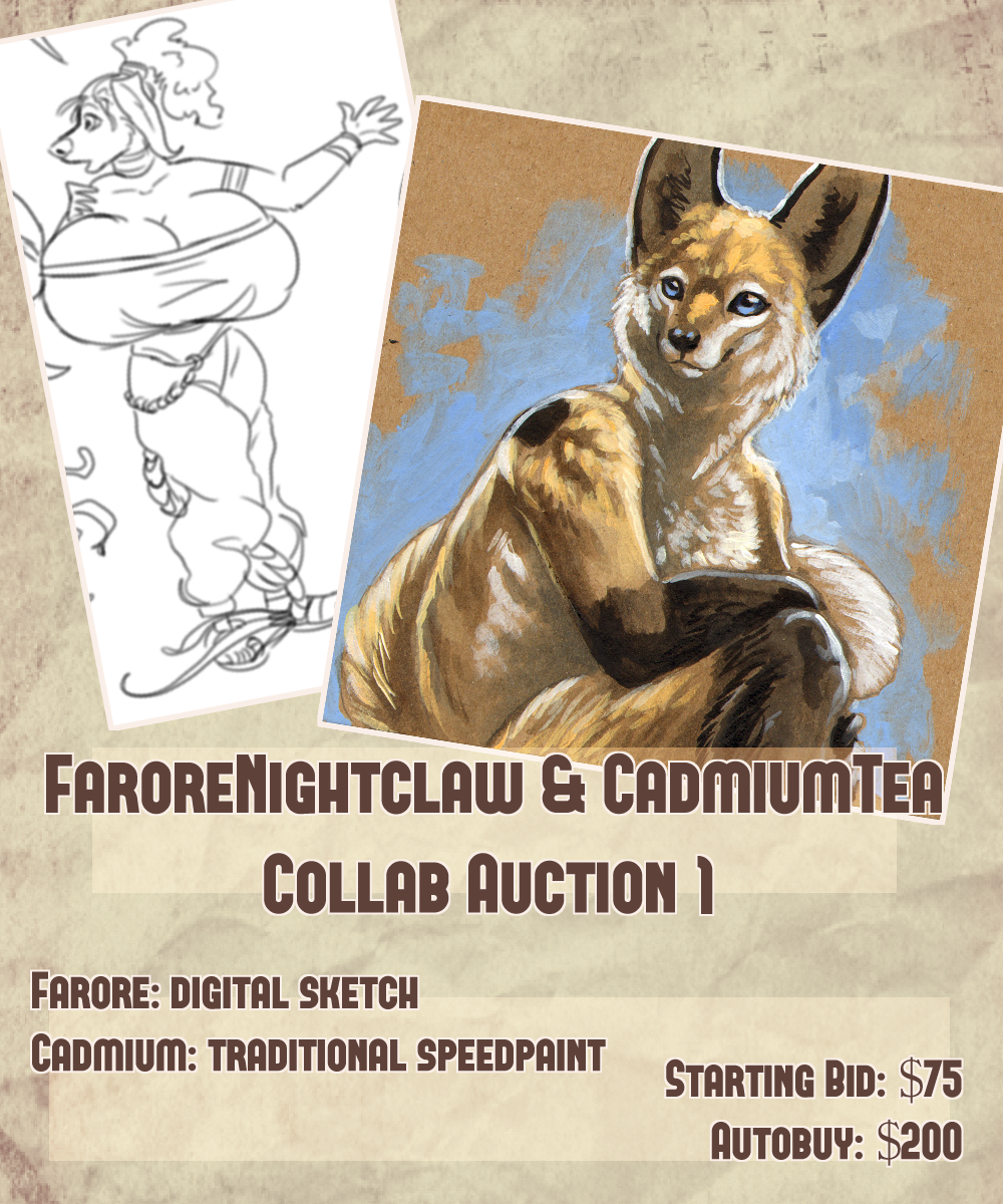 Farore x Cadmiumtea Collab Auction! Speedpaint Edition!