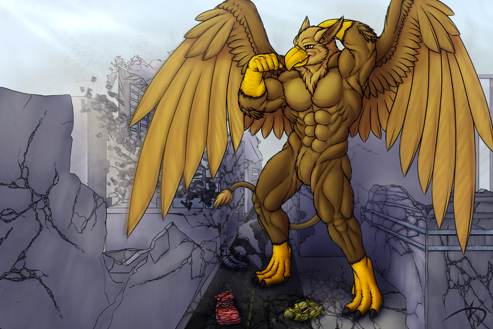 Commission: Pyronite Shaded