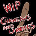 Psycho Slasher Fox -- WIP11 Chainsaw and Undies